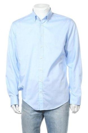 Мъжка риза Seidensticker, Размер XL, Цвят Син, Памук, Цена 15,12лв.