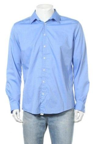 Мъжка риза Seidensticker, Размер XL, Цвят Син, Памук, Цена 20,79лв.