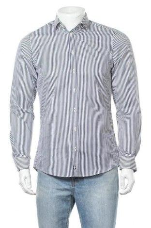 Ανδρικό πουκάμισο Strellson, Μέγεθος S, Χρώμα Μπλέ, Βαμβάκι, Τιμή 7,09€