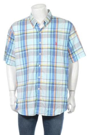 Мъжка риза U.S. Polo Assn., Размер XXL, Цвят Многоцветен, 66% памук, 30% полиестер, 4% еластан, Цена 62,21лв.