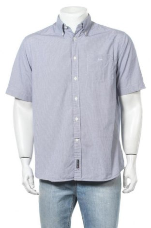 Ανδρικό πουκάμισο U.S. Polo Assn., Μέγεθος L, Χρώμα Μπλέ, Βαμβάκι, Τιμή 10,00€