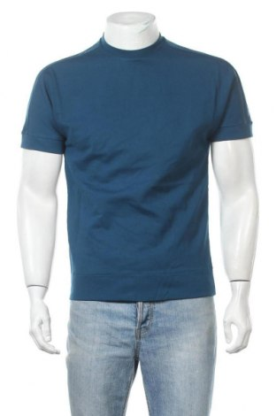 Ανδρική αθλητική μπλούζα Adidas, Μέγεθος S, Χρώμα Μπλέ, 70% βισκόζη, 25% πολυαμίδη, 5% ελαστάνη, Τιμή 7,27€