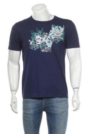 Мъжка тениска, Размер S, Цвят Син, Цена 6,83лв.