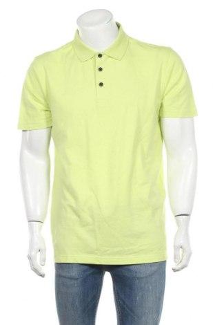 Мъжка тениска Abacus, Размер XL, Цвят Зелен, 95% памук, 5% еластан, Цена 16,80лв.