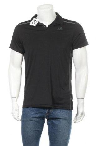 Ανδρικό t-shirt Adidas, Μέγεθος M, Χρώμα Μαύρο, Πολυεστέρας, Τιμή 14,03€