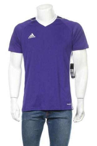 Ανδρικό t-shirt Adidas, Μέγεθος M, Χρώμα Βιολετί, Πολυεστέρας, Τιμή 21,34€