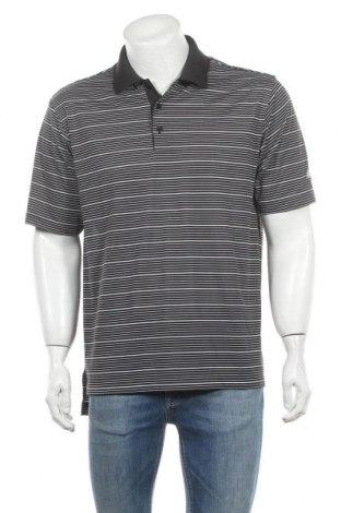 Ανδρικό t-shirt Adidas, Μέγεθος M, Χρώμα Μαύρο, Πολυεστέρας, Τιμή 12,86€