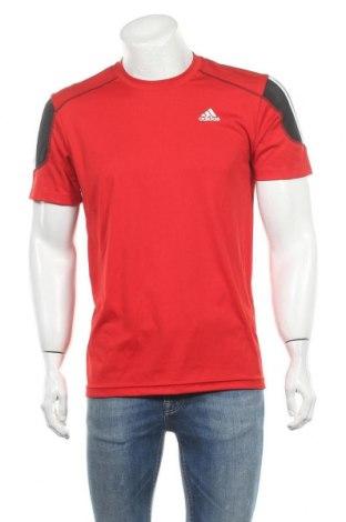 Ανδρικό t-shirt Adidas, Μέγεθος M, Χρώμα Κόκκινο, Πολυεστέρας, Τιμή 15,59€