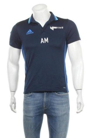 Ανδρικό t-shirt Adidas, Μέγεθος S, Χρώμα Μπλέ, Πολυεστέρας, Τιμή 11,04€