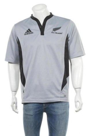 Ανδρικό t-shirt Adidas, Μέγεθος M, Χρώμα Μπλέ, Πολυεστέρας, Τιμή 11,04€