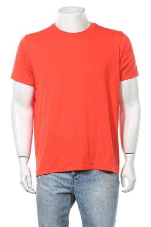 Ανδρικό t-shirt Adidas, Μέγεθος L, Χρώμα Πορτοκαλί, 97% πολυεστέρας, 3% ελαστάνη, Τιμή 13,64€
