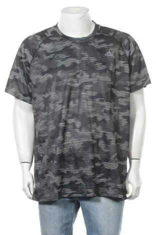 Ανδρικό t-shirt Adidas, Μέγεθος XXL, Χρώμα Πολύχρωμο, Πολυεστέρας, Τιμή 18,70€