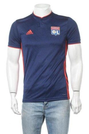 Ανδρικό t-shirt Adidas, Μέγεθος S, Χρώμα Μπλέ, 100% πολυεστέρας, Τιμή 18,35€