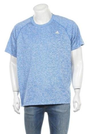 Ανδρικό t-shirt Adidas, Μέγεθος XL, Χρώμα Μπλέ, Πολυεστέρας, Τιμή 14,55€
