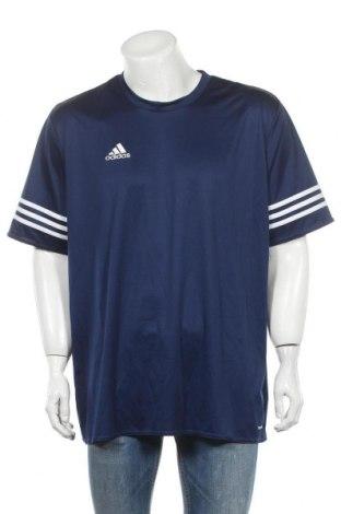 Ανδρικό t-shirt Adidas, Μέγεθος XL, Χρώμα Μπλέ, Πολυεστέρας, Τιμή 14,03€
