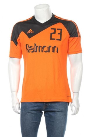 Ανδρικό t-shirt Adidas, Μέγεθος M, Χρώμα Πορτοκαλί, Πολυεστέρας, Τιμή 8,28€