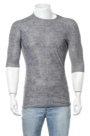 Ανδρικό t-shirt Adidas, Μέγεθος XL, Χρώμα Γκρί, 76% πολυεστέρας, 24% ελαστάνη, Τιμή 19,74€