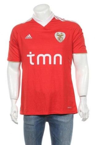 Ανδρικό t-shirt Adidas, Μέγεθος L, Χρώμα Κόκκινο, Τιμή 21,82€