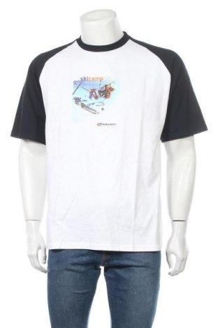 Ανδρικό t-shirt B&C Collection, Μέγεθος L, Χρώμα Λευκό, Βαμβάκι, Τιμή 8,64€