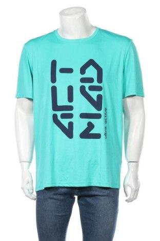 Ανδρικό t-shirt Crane, Μέγεθος XL, Χρώμα Μπλέ, Πολυεστέρας, Τιμή 9,09€