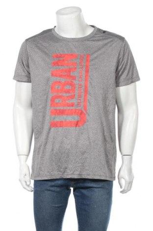 Ανδρικό t-shirt Crivit, Μέγεθος XL, Χρώμα Γκρί, Πολυεστέρας, Τιμή 6,33€