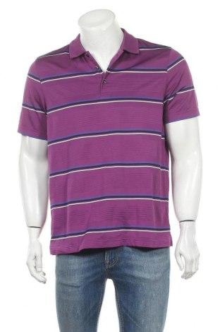 Мъжка тениска Croft & Barrow, Размер M, Цвят Лилав, Полиестер, Цена 14,70лв.