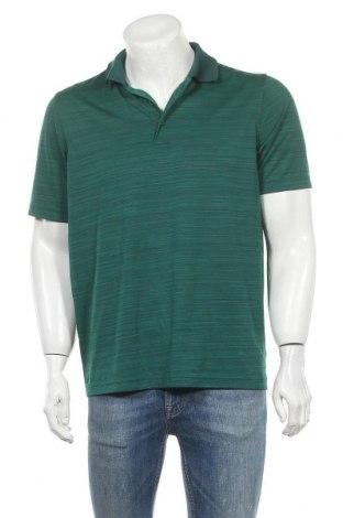 Мъжка тениска Croft & Barrow, Размер M, Цвят Зелен, Полиестер, Цена 18,90лв.