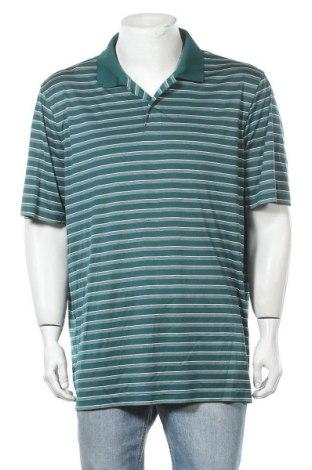 Мъжка тениска Croft & Barrow, Размер XXL, Цвят Зелен, Полиестер, Цена 18,90лв.