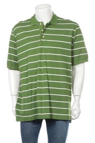 Мъжка тениска Croft & Barrow, Размер XXL, Цвят Зелен, Памук, Цена 18,95лв.