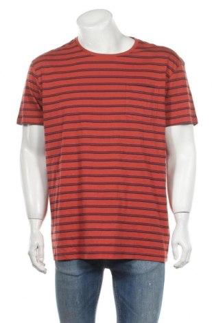 Ανδρικό t-shirt Cubus, Μέγεθος XXL, Χρώμα Πορτοκαλί, Βαμβάκι, Τιμή 9,87€