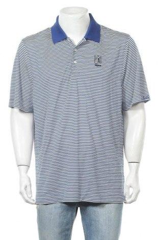 Мъжка тениска Cutter & Buck, Размер XL, Цвят Бял, Полиестер, Цена 15,17лв.