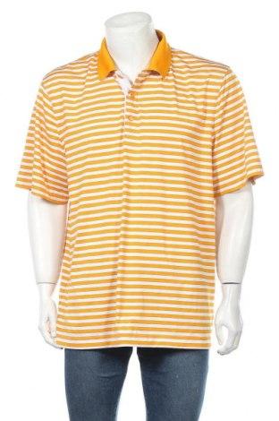 Мъжка тениска Cutter & Buck, Размер XL, Цвят Бял, 92% полиестер, 8% еластан, Цена 17,01лв.