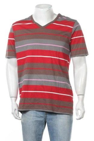 Ανδρικό t-shirt Daniel Hechter, Μέγεθος L, Χρώμα Πολύχρωμο, Βαμβάκι, Τιμή 7,27€