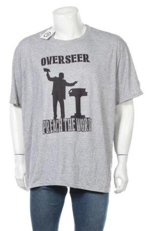 Мъжка тениска Gildan, Размер XXL, Цвят Сив, Полиестер, Цена 15,12лв.