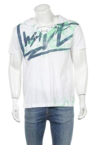 Ανδρικό t-shirt Inside, Μέγεθος XL, Χρώμα Λευκό, Βαμβάκι, Τιμή 16,89€