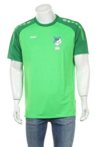 Ανδρικό t-shirt Jako, Μέγεθος XL, Χρώμα Πράσινο, Πολυεστέρας, Τιμή 10,91€