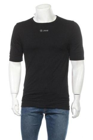 Ανδρικό t-shirt Jako, Μέγεθος XXL, Χρώμα Μαύρο, 96% πολυαμίδη, 4% ελαστάνη, Τιμή 7,73€