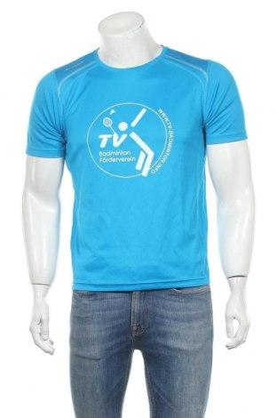 Ανδρικό t-shirt Jako, Μέγεθος M, Χρώμα Μπλέ, Πολυεστέρας, Τιμή 6,62€