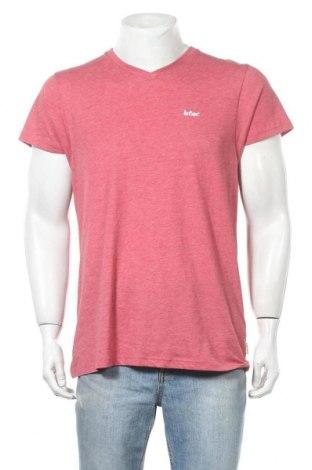 Мъжка тениска Lee Cooper, Размер M, Цвят Розов, 65% полиестер, 35% памук, Цена 15,95лв.
