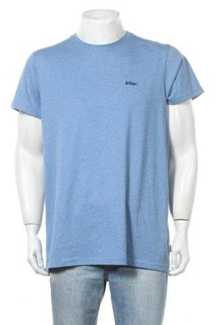 Мъжка тениска Lee Cooper, Размер L, Цвят Син, 65% полиестер, 35% памук, Цена 14,30лв.