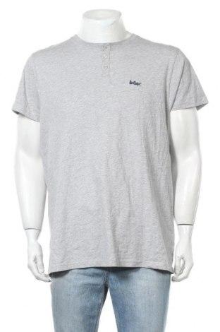 Мъжка тениска Lee Cooper, Размер L, Цвят Сив, 90% памук, 10% вискоза, Цена 14,30лв.