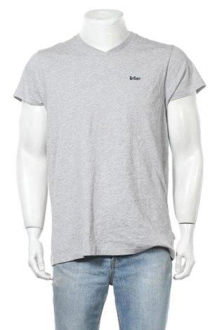 Мъжка тениска Lee Cooper, Размер M, Цвят Сив, 90% памук, 10% вискоза, Цена 15,95лв.