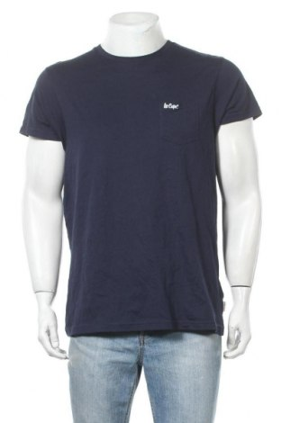 Мъжка тениска Lee Cooper, Размер M, Цвят Син, Памук, Цена 15,95лв.