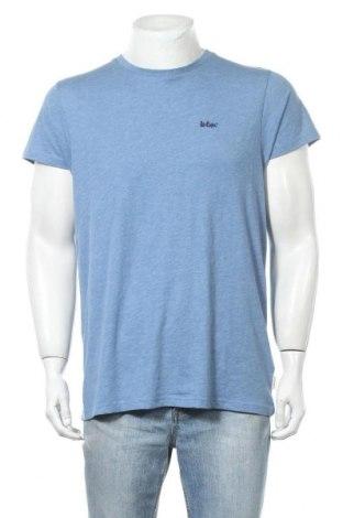 Мъжка тениска Lee Cooper, Размер M, Цвят Син, 65% полиестер, 35% памук, Цена 15,95лв.