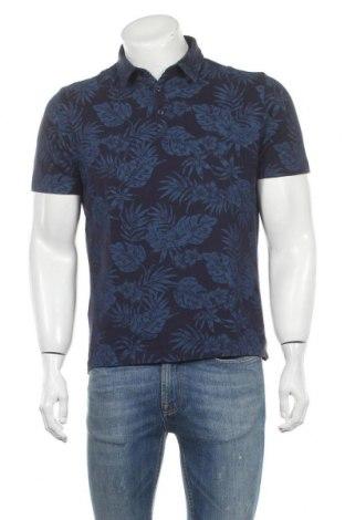 Мъжка тениска Mango, Размер M, Цвят Син, Памук, Цена 16,50лв.