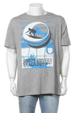 Ανδρικό t-shirt Manguun, Μέγεθος XXL, Χρώμα Γκρί, 85% βαμβάκι, 15% βισκόζη, Τιμή 25,33€