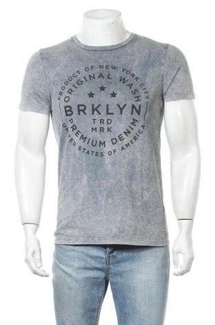 Ανδρικό t-shirt Next, Μέγεθος S, Χρώμα Γκρί, Τιμή 9,74€