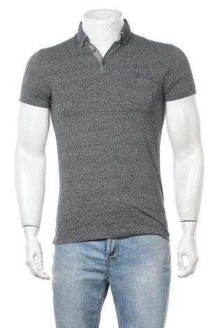 Ανδρικό t-shirt Next, Μέγεθος S, Χρώμα Γκρί, 50% βαμβάκι, 50% πολυεστέρας, Τιμή 7,79€