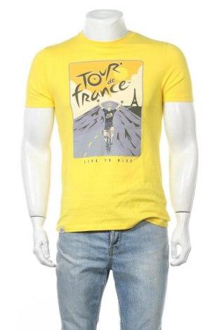 Ανδρικό t-shirt Next, Μέγεθος S, Χρώμα Κίτρινο, Βαμβάκι, Τιμή 9,35€