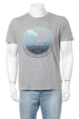 Ανδρικό t-shirt O'neill, Μέγεθος M, Χρώμα Γκρί, 85% βαμβάκι, 15% βισκόζη, Τιμή 22,08€